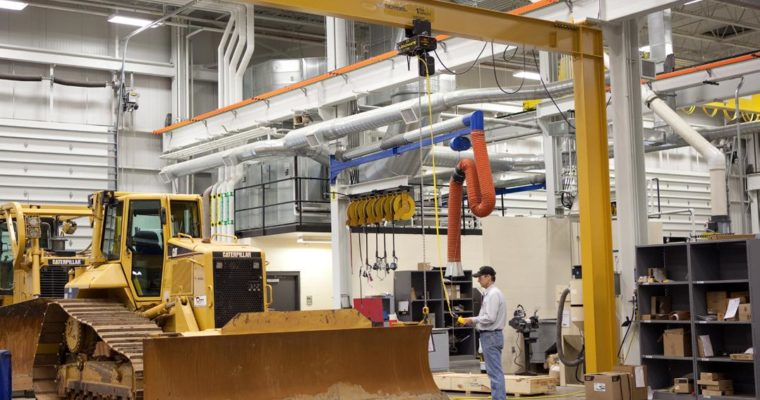 The Advantages of Using Freestanding Jib Cranes
